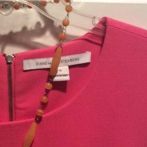 Diane von Furstenberg dress 14 38bust 36L
